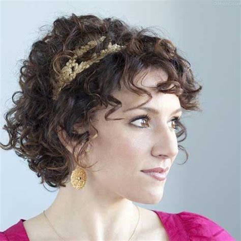 perm hairstyle thin 15 curly perms for short hair short hairstyles 2017