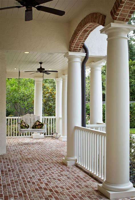 brick front veranda schritte 92 best images about front porch decorating on