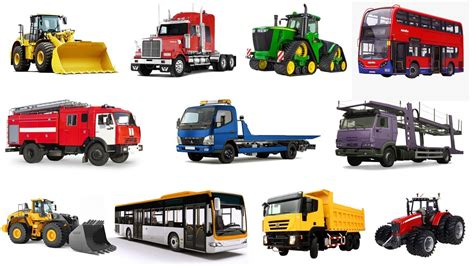 Cars For Big And by Cars And Trucks Learn Transport Big Cars And Heavy