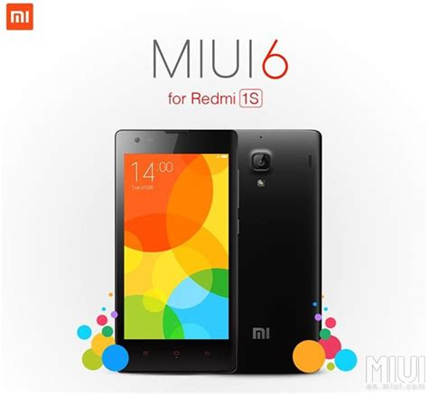 Update Hp Xiaomi Redmi 1s how to update xiaomi redmi 1s to miui 6 v6 6 1 0 khcmicf android 4 4 4 kitkat official firmware