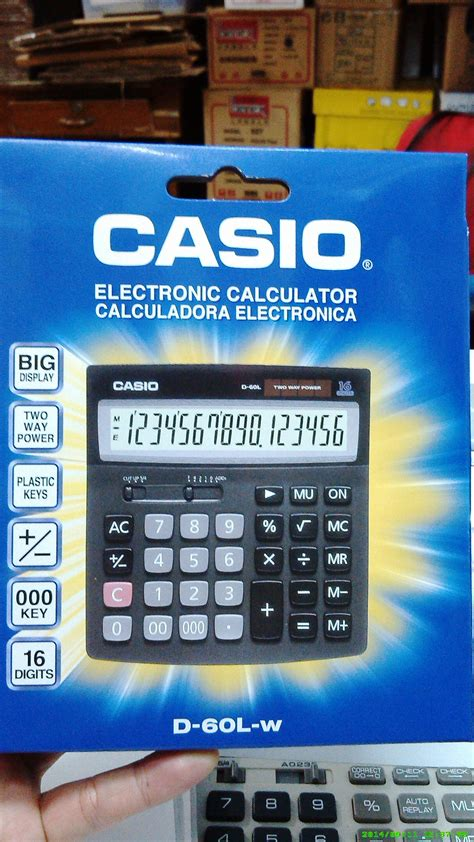 Citizen Sdc 916 Desktop Calculator Kalkulator Meja Product jual calculator 16 digit casio dl 60l w di indonesia katalog or id