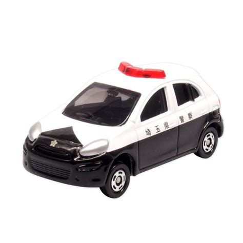 tomica nissan march jual tomica 17 nissan march police car online harga