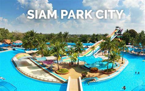 theme park di thailand siam park city asia s largest water park thailand s