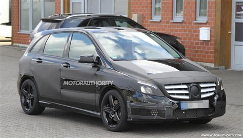 mercedes b class amg b class is only a test mule for smaller amg models