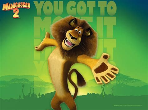 How to draw madagascar 2 wallpaper : alex the king