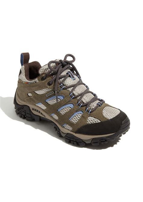 merrell trail shoes womens merrell merrell moab waterproof trail shoe