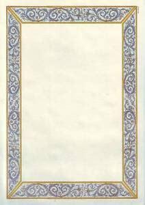 cornici foglio a4 due fogli pergamena f to a4 cornice 04 ebay
