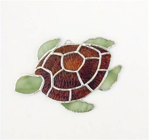 stained glass turtle l 173 best images about stained glass fish on pinterest