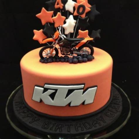 Ktm Bike Cake Ktm Motorbike Cake Motocross Motorcycle