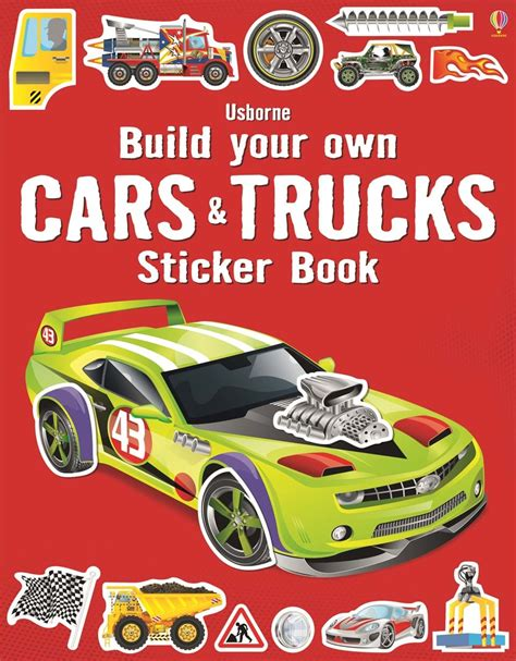25 picture books about cars and trucks autos post build your own cars and trucks sticker book at usborne children s books