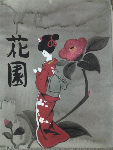 japanese geisha drawings geisha drawing by luck7151 on deviantart