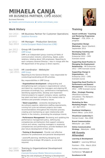 partner resume samples visualcv resume samples database