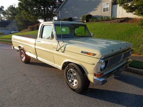 Purchase Used 1970 F100 250 Series Sport Custom In