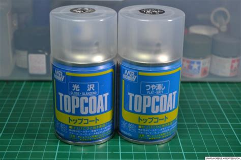Premium Top Coat Flat Mr Hobby gundam top coat guide giving your gunpla a fantastic finish from japan