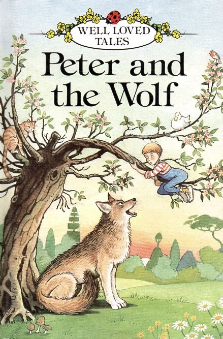 of the wolf books and the wolf ladybird book well loved tales series