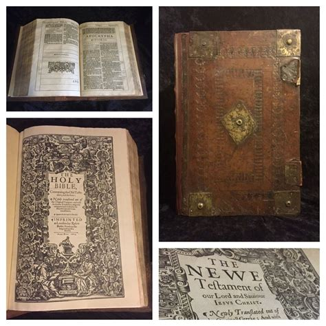 Top A 1611 Top 28 1611 Edition King Bible Great He Folio Title