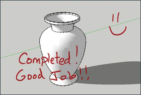google sketchup vase tutorial sketchup tutorial how to create a vase mastersketchup com