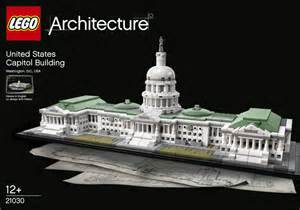 Famous Us Architects the latest lego 174 architecture set the u s capitol