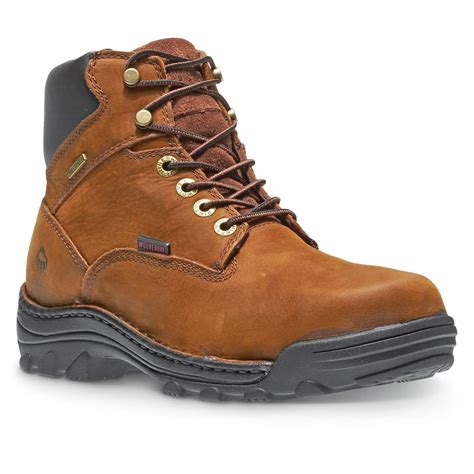 wolverine work boots for wolverine s durbin 6 quot waterproof work boots 665397