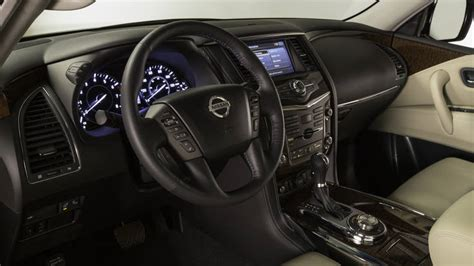 nissan armada 2017 interior 2017 nissan armada suv review with price horsepower and