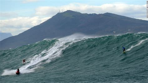 surfers ride the in europe cnn