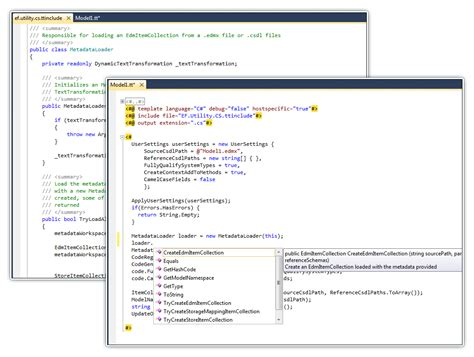 t4 template devart t4 editor for visual studio 2008