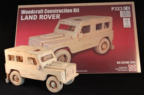 Wooden Construction 3d Model Land Rover Www Fourby Co Uk