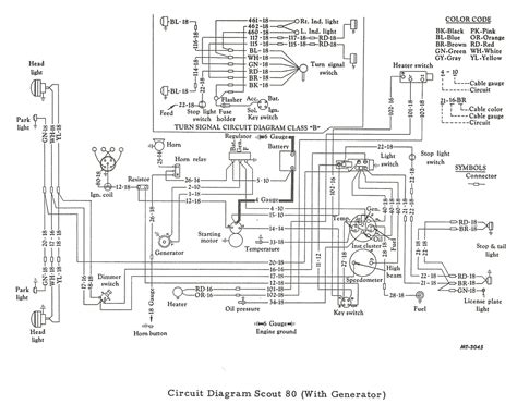 scout80 w generator schematic and wiring diagram wiring