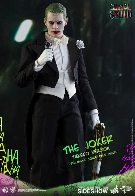 Jared Leto Dons A Tuxedo As The Joker In Squad Iphone dc comics the joker tuxedo version sixth scale figure by