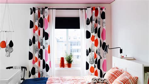 Media Room Blackout Curtains Combina Los Estampados Con Los Colores Lisos