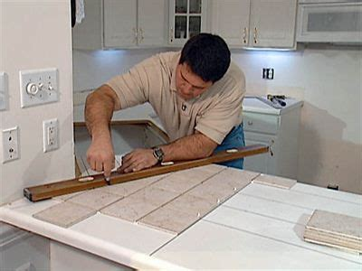How To Tile A Countertop Laminate by Install Tile Laminate Countertop And Backsplash