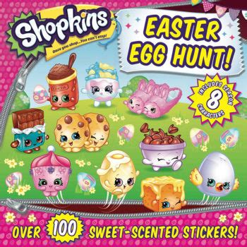 shopkins easter egg hunt bee books