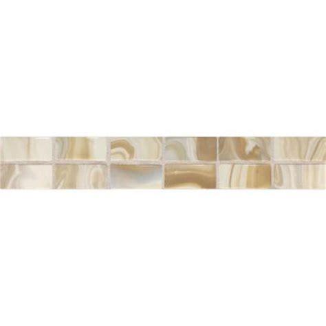 home depot decorative tile daltile fashion accents gold swirl 2 in x 12 in ceramic
