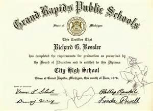 high school graduation certificate template city high school graduation certificate history grand rapids