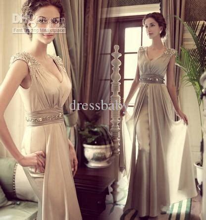 Hot Sale Chiffon V Neck Long Dress / Evening Dress   Fashion