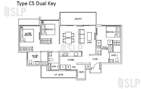ecopolitan ec floor plan singapore executive condominium ec 3 br c1 c5