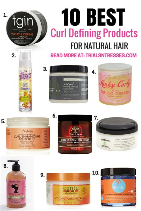 best haor product for a 1 year old 10 best curl defining products for natural hair trials n
