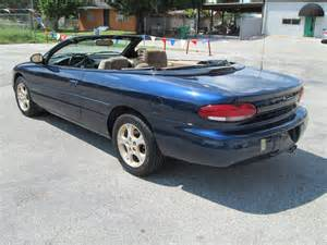 2000 Chrysler Sebring Jxi Convertible 2000 Chrysler Sebring Pictures Cargurus
