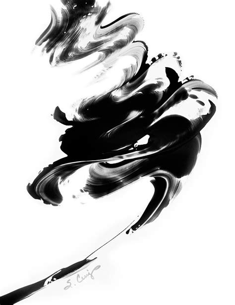 Home Decor Texas by Black And White Painting Bw Abstract Art Artwork High Contrast
