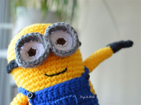 pattern crochet minion dave the minion crochet pattern pops de milk