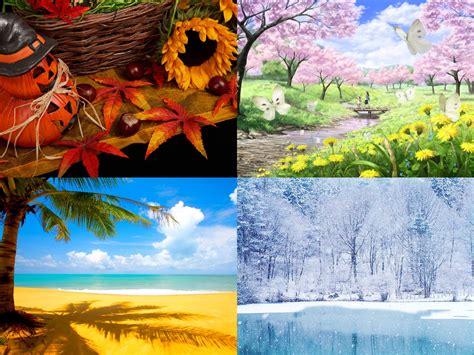계절과 날씨 season and weather musim dan cuaca hangul world