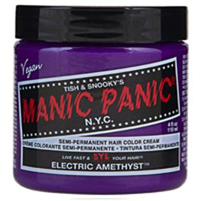 Manic Panic Classic Electric Amethyst Berkualitas manic panic semi permanent hair color electric amethyst 4 oz chickadee solutions