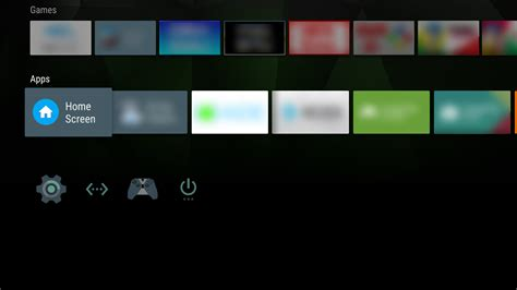 home screen launcher for android tv android apps on