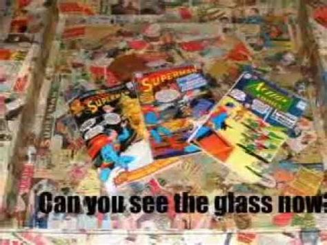 comic book coffee table recycled coffee comic book table superman dc marvel