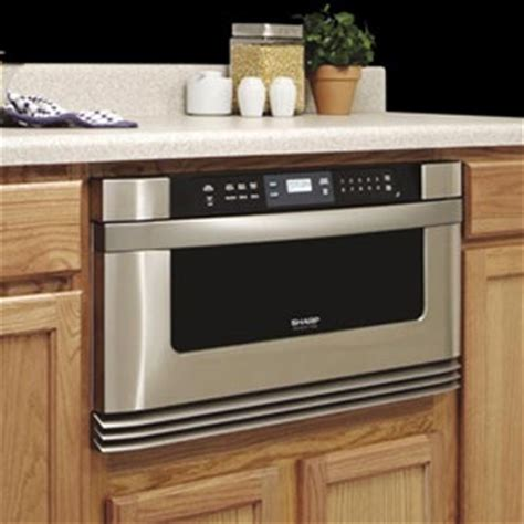 Undercounter Microwave Drawer by Sharp Microwave Drawer 2 Images Frompo
