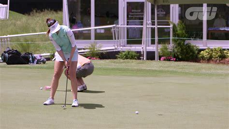 sandra gal golf swing sandra gal favorite club in her golf bag is the putter
