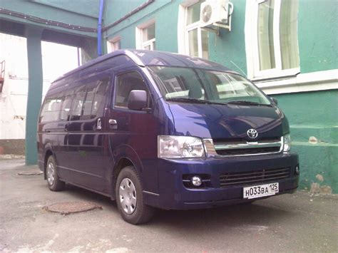 2007 Toyota Hiace For Sale Used 2007 Toyota Hiace Photos 2700cc Gasoline Fr Or Rr