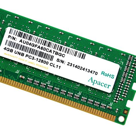 Ram Ddr3 Apacer memory ram apacer ddr3 1600 4gb 8gb 1600mhz 240pin memory ram for desktop pc was listed for