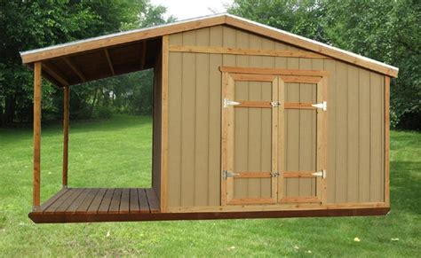 shed ideas rustic sheds with porch storage shed plans with porch