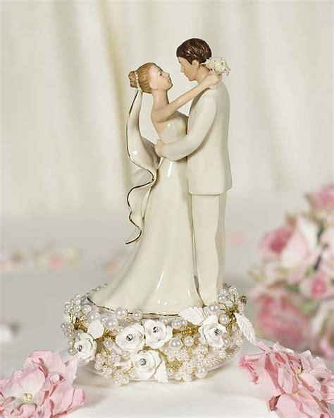 vintage cake topper vintage pearl wedding cake topper wedding collectibles